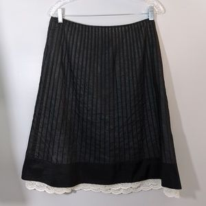 Pleated Ann Taylor Skirt Size 8 New w / Tags